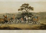 Foxhunting, 1817 - Plate 3