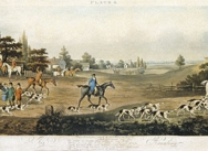 Foxhunting, 1817 - Plate 4