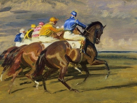 Sporting Art Talk  Sir Alfred Munnings :- Mansions, Parks and Lakes Now Available on You Tube