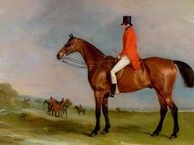 Mr William Bowan Jordan Wilson of Knowle Hall, Warwickshire on Go Easy